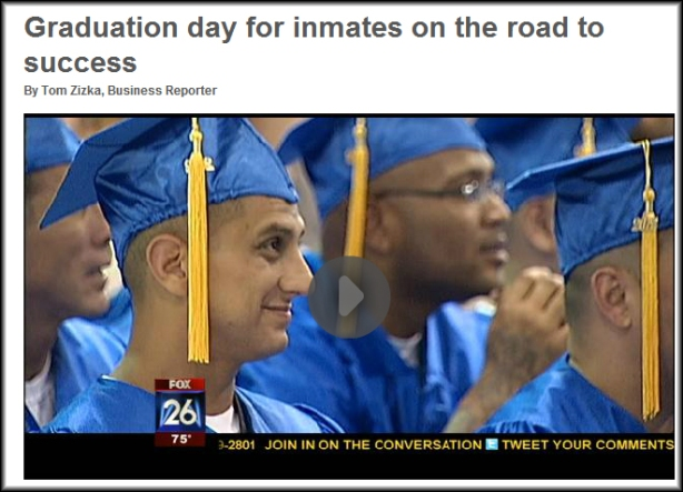 Fox News - Prison Entrepreneurship Graduation Day