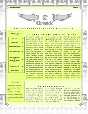 Class 20 Chronicle: Issue 11