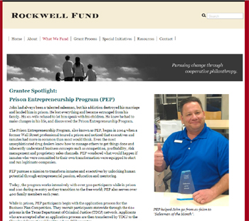 Rockwell Fund Grantee Profile on PEP