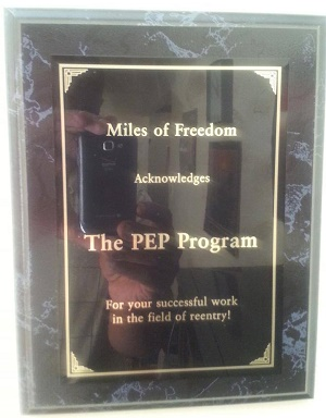 Miles of Freedom award for Prison Entrepreneurship Program