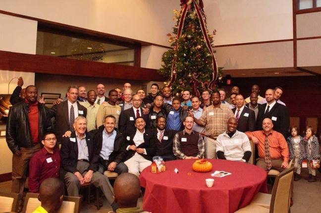 MDPC Memorial Drive Presbyterian Church hosted PEP's graduates for Thanksgiving dinner
