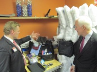 PEP's Chief Development Officer Jeremy Gregg leading U.S. Senator John Cornyn on a Tour of PEP
