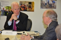 U.S. Senator John Cornyn Meeting with PEP's Leadership Team.