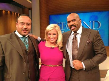 The Shine King of Texas with Cheri Garcia and Steve Harvey