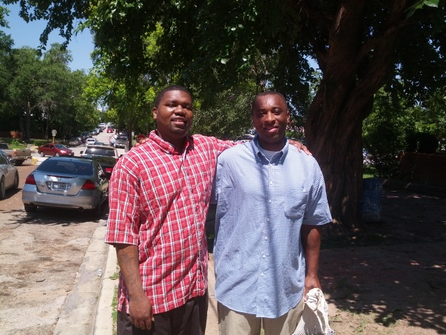 Jason L. and Michael H.