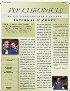 PEP Chronicle - Class 22 - 2014-07